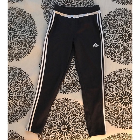 45a53d1041 Adidas dk grey track pants size xs or youth L